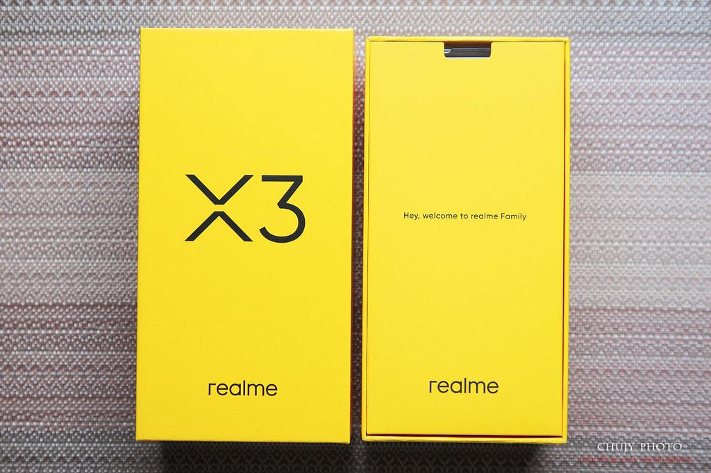 (chujy) realme X3 真我。三倍速開箱 - 1