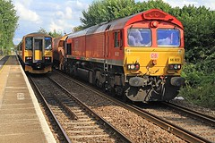 Photo of Class 66 66027 DB Schenker Bottesford 02-08-20