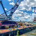 Cleveland Harbor west breakwater repairs