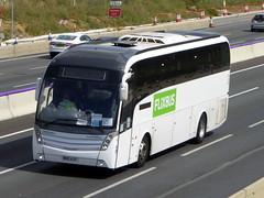 Photo of BK15 AJY - Scania K440EB4 - Caetano Levante 2 - BM Coaches Flixbus - M1 at Milton Keynes 02Aug20