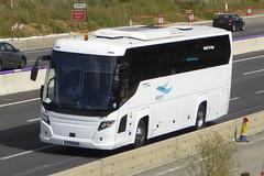 Photo of YT19 DXZ Scania K360IB4 - Higer Touring - airsym - M1 at Milton Keynes 02Aug20