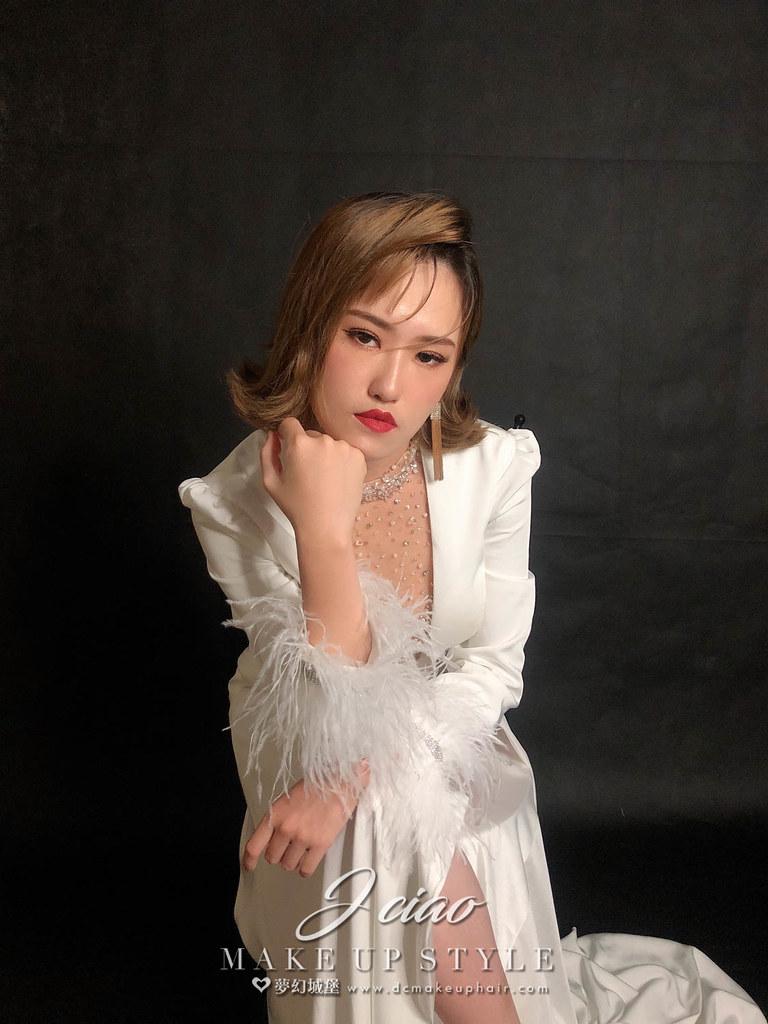 【新秘婕喬】新娘造型創作 /時尚率性造型