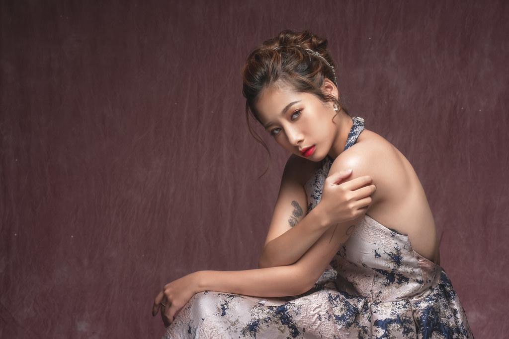 【新秘羽寧】新娘造型創作 / 歐式線條盤髮