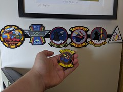 Photo of United States Navy VQ-4 Shadows E-6B Mercury Patch Coin Collection