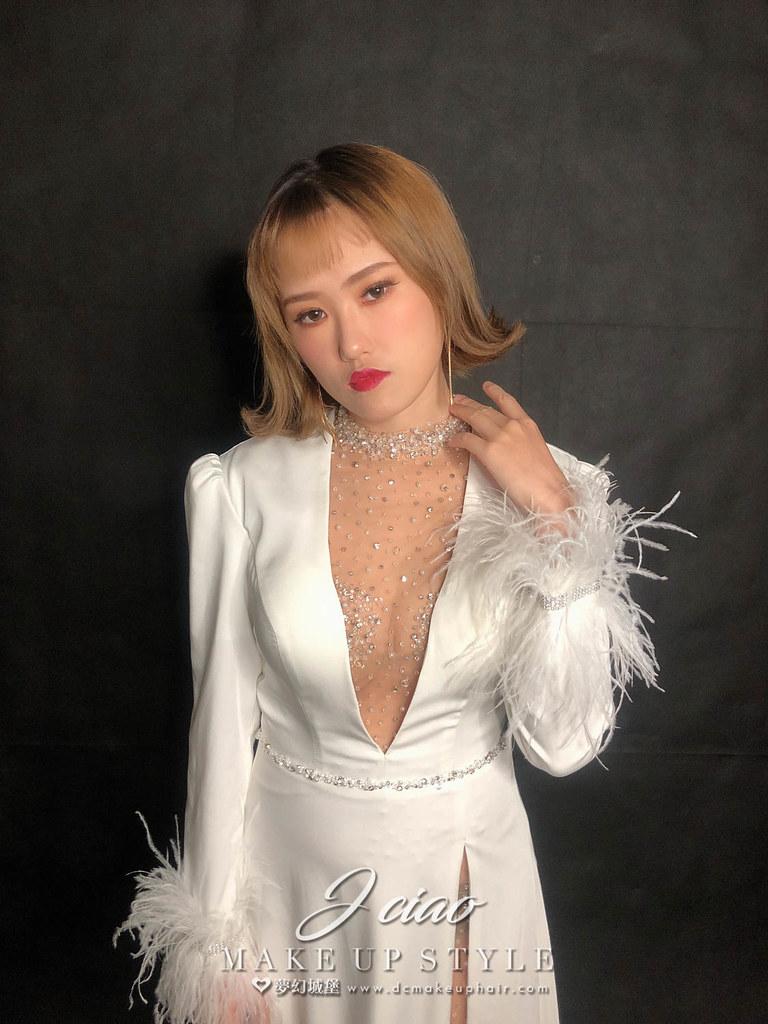 【新秘婕喬】新娘造型創作 /個性短髮造型