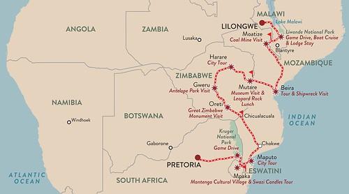 Malawi Meander Shongololo Express