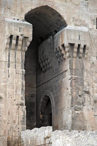 Aleppo Citadel (Qal'at Halab) c.10th-15th cent Entry Complex Citadel Entrance (1e)