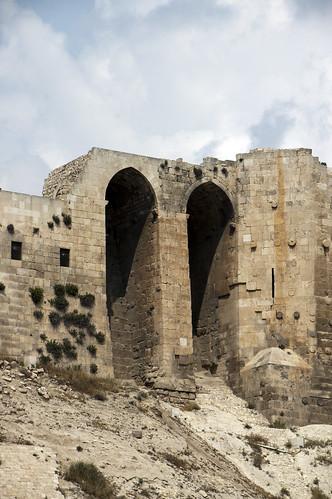 Aleppo Citadel (Qal'at Halab) c.10th-15th cent Entry Complex Ayyubid