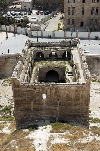 Aleppo Citadel (Qal'at Halab) c.10th-15th cent Advance Tower south 1501-1516 Mamluk (3)