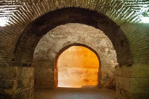 Aleppo Citadel (Qal'at Halab) c.10th-15th cent Entry Complex Citadel Inner Passage