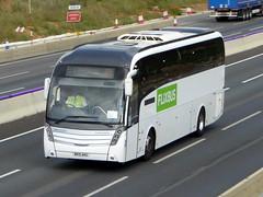 Photo of BK15 AKG - Scania K440EB4 - Caetano Levante 2 - BM Coaches Flixbus - M1 at Milton Keynes 06Aug20