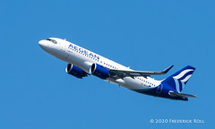 Photo of Aegean A320neo ~ SX-NEC