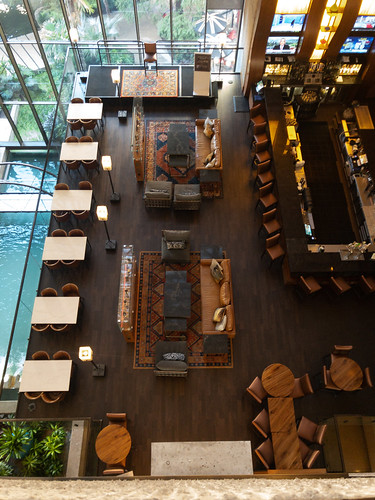 Bar area - Hyatt Riverwalk, San Antonio