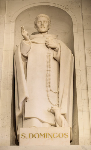 St Dominic with Rosary