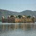 Jaipur IND - Jal Mahal Palace amidst Man Sagar Lake 02