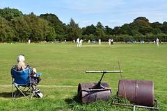 Photo of Tong Park Esholt CC: Cricket in the sunshine