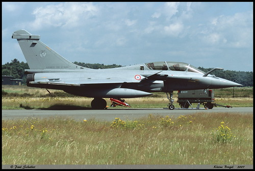 "RAFALE B 318 7-HM EC1/7 Provence ""Kleine Brogel"" juillet 2007"