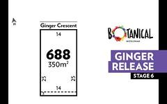 Lot 688, Ginger Crescent, Mickleham VIC