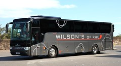 Photo of Wilson's of Rhu, Argyle 509 RHU at Meadowbank Terrace in Edinburgh for the Honk 4 Hope protest rally event.