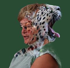 Tigerfrau JPEG