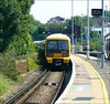 Southeastern Train No. 465039, heads away from Dartford en-route to Gravesend