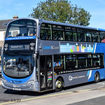 Go North East 6115, a 2014 Wright Gemini 2 bodied Volvo B9TL reg no NL63XBZ