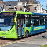 Arriva North East 1589, a 2014 Wright Streetlite DF Max Micro Hybrid, reg no NK64EEG
