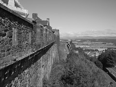 Photo of North Face of Stirling Castle