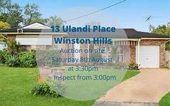 13 Ulandi Place, Winston Hills NSW