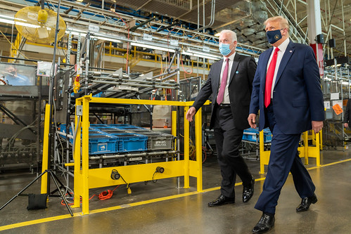 President Trump at the Whirlpool Corpora by The White House, on Flickr