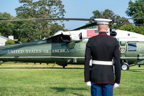 President Trump in New Jersey by The White House, on Flickr