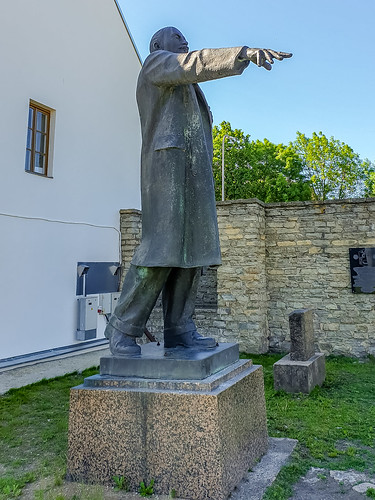 Lenin monument, Narva