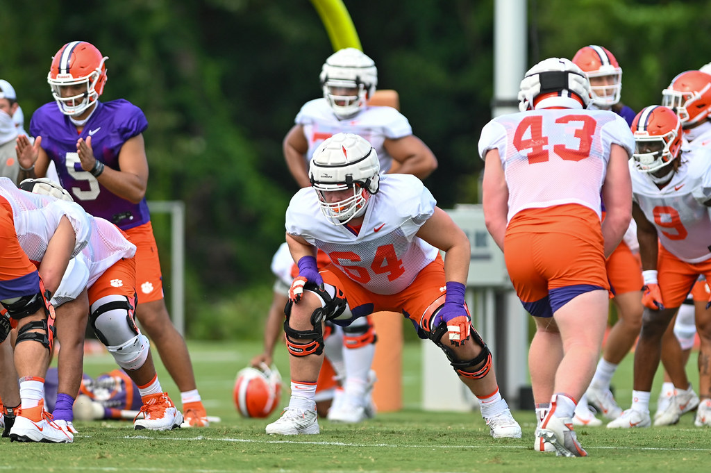 Clemson Photos: 2020, Football, Walker  Parks, clemsonsid
