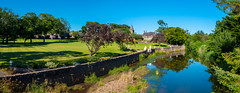 Photo of Panorama of river scene at Lunan, Angus
