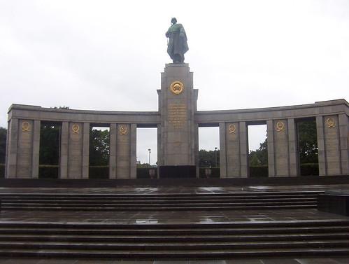 Soviet War Memorial Tiergarten Berlin August 2006