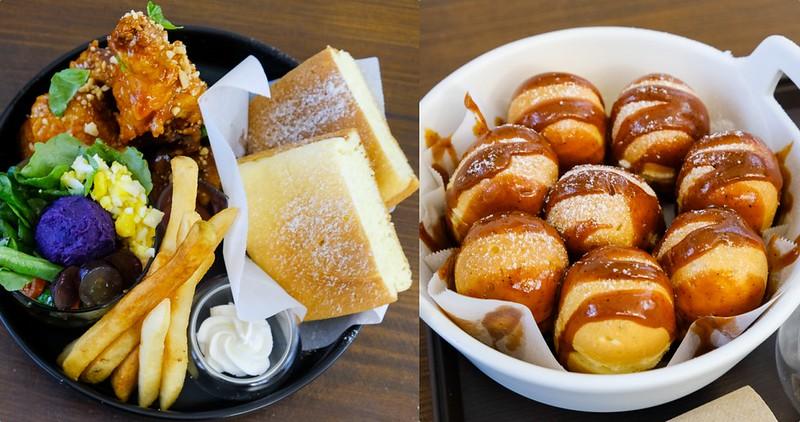 【台南美食】和喫鬆餅 老宅早午餐x人氣鬆餅店!好吃的方塊厚鬆餅&鬆餅球!