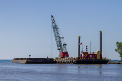 Harbor Dredging Continues