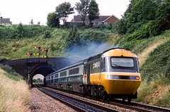 Photo of Rainbow Hill Tunnel, Worcester, July 1989