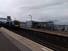 Photo of 170413 passing Montrose