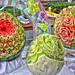 Japanese Art on Fruit