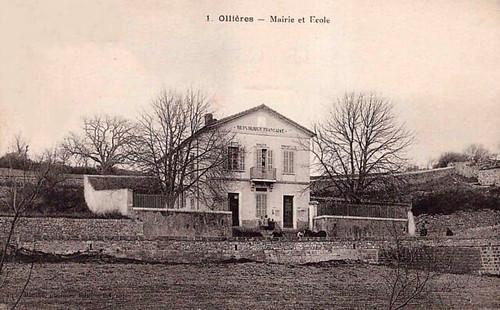 Ollières : Mairie Ecole