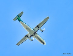 Photo of Airlingus EI-GEV  approaching Glasgow Airport