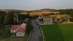 Photo of Cleish from above