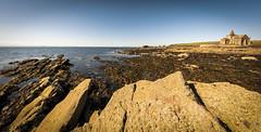 Photo of Rocks, Saint Monans Harbor, Fife, Scotland, UK