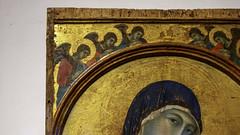 Duccio, Perugia Madonna (detail)