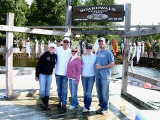 Copy of Saltwater Hangers - Salmon Fishing - Group of 5 - Men Women
