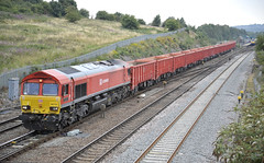 Photo of DB Class 66 66152 Walsall Freight Terminal to Dowlow Briggs Sdgs