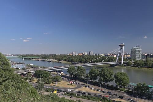 2017-06-15 SK Bratislava I & Bratislava V, Dunaj, Most SNP, Starý most