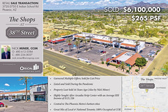 """SOLD: Arcadia Retail Center Sold at List Price ($6.1M) with Multiple Offers 