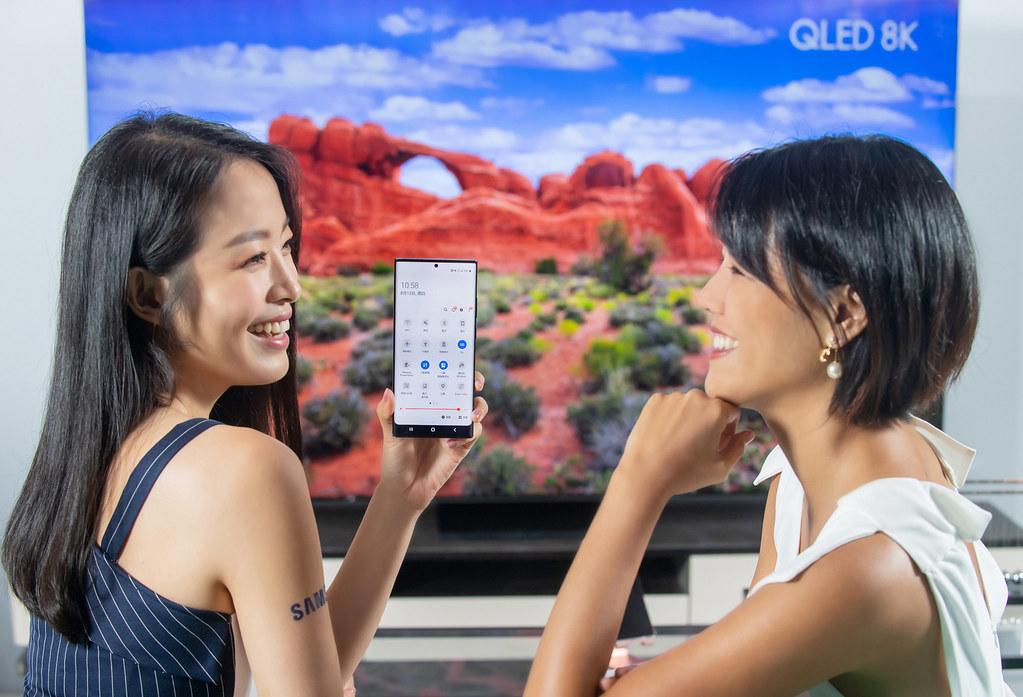 新聞照片5:Galaxy Note20 5G系列提供使用者強大的5G及Wi-Fi6效能,讓使用者輕鬆瀏覽高畫質影像